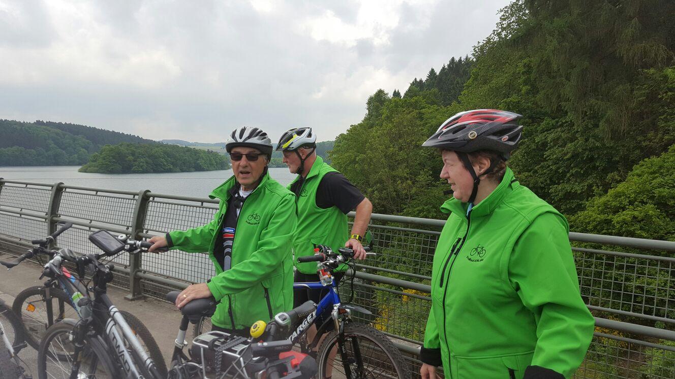 geführte Stern-Fahrradtouren im bergischen Land